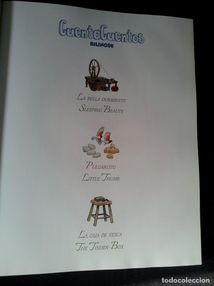 Libros de segunda mano: COLECCIÓN CUENTA CUENTOS BILINGÜE (OBRA COMPLETA DE 12 VOLUMENES) (ESPAÑOL-INGLES): SIGNO EDITORES - Foto 30 - 135651591