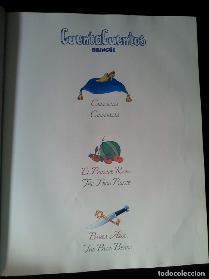 Libros de segunda mano: COLECCIÓN CUENTA CUENTOS BILINGÜE (OBRA COMPLETA DE 12 VOLUMENES) (ESPAÑOL-INGLES): SIGNO EDITORES - Foto 40 - 135651591