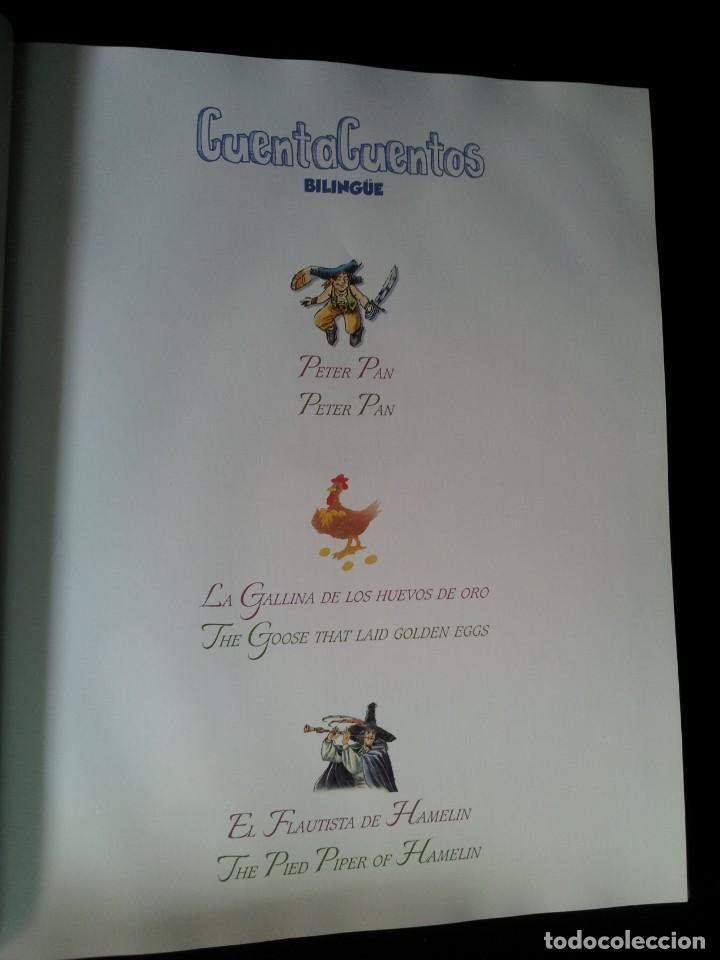 Libros de segunda mano: COLECCIÓN CUENTA CUENTOS BILINGÜE (OBRA COMPLETA DE 12 VOLUMENES) (ESPAÑOL-INGLES): SIGNO EDITORES - Foto 44 - 135651591