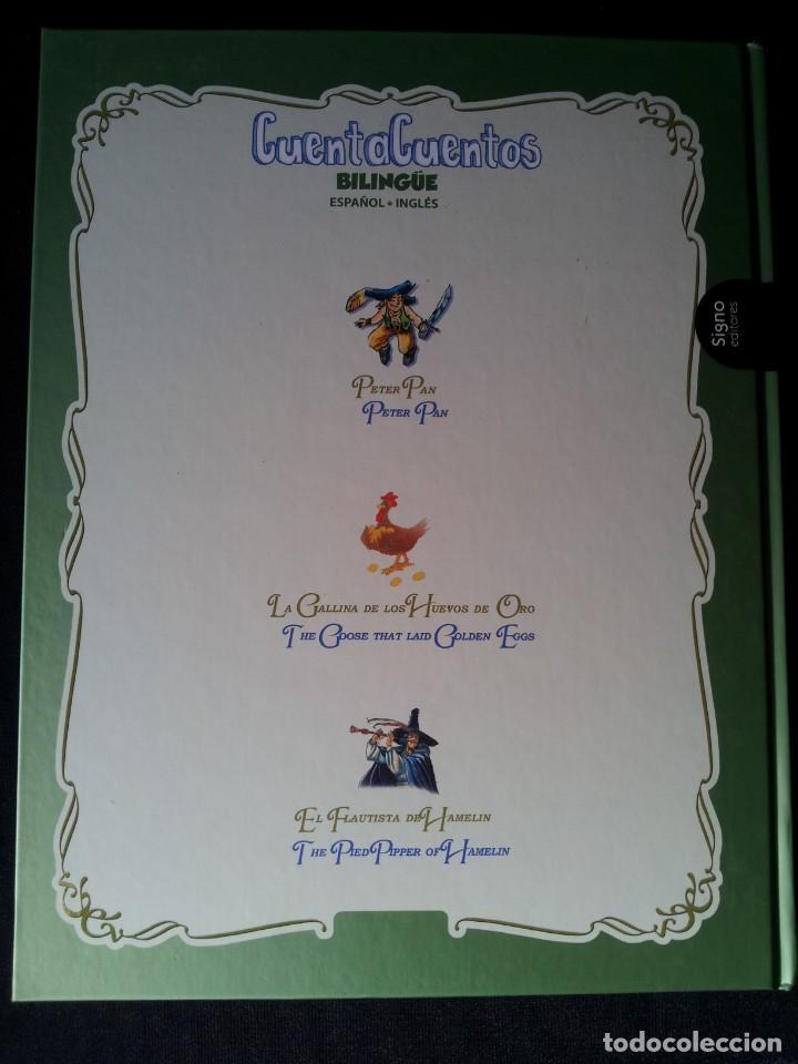 Libros de segunda mano: COLECCIÓN CUENTA CUENTOS BILINGÜE (OBRA COMPLETA DE 12 VOLUMENES) (ESPAÑOL-INGLES): SIGNO EDITORES - Foto 46 - 135651591