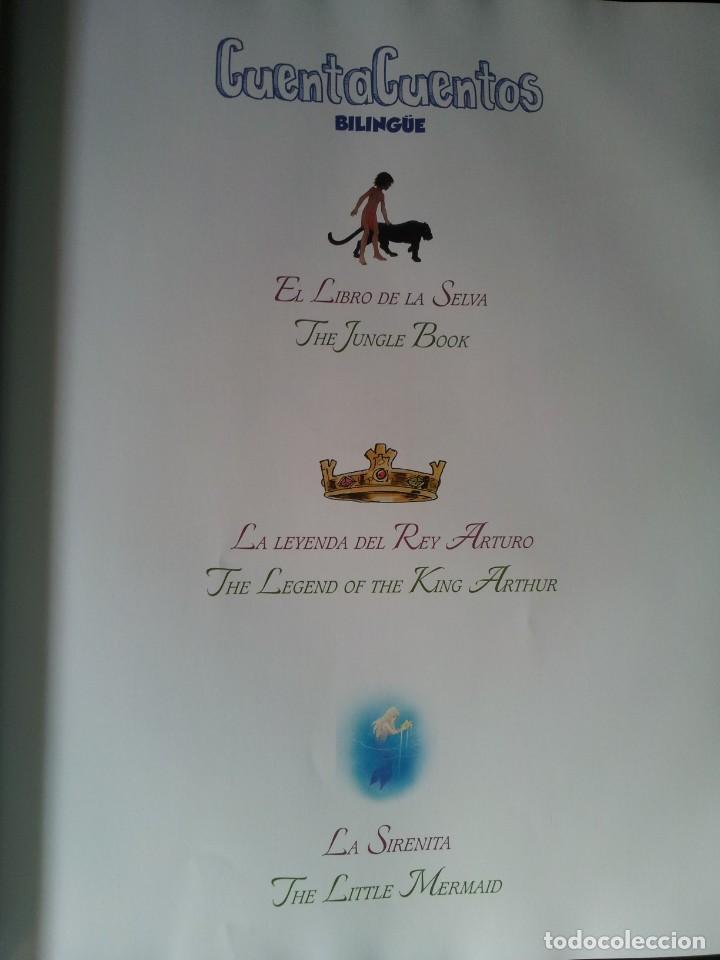 Libros de segunda mano: COLECCIÓN CUENTA CUENTOS BILINGÜE (OBRA COMPLETA DE 12 VOLUMENES) (ESPAÑOL-INGLES): SIGNO EDITORES - Foto 49 - 135651591