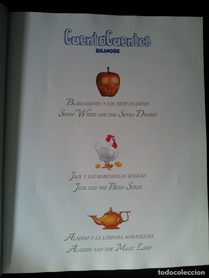 Libros de segunda mano: COLECCIÓN CUENTA CUENTOS BILINGÜE (OBRA COMPLETA DE 12 VOLUMENES) (ESPAÑOL-INGLES): SIGNO EDITORES - Foto 53 - 135651591