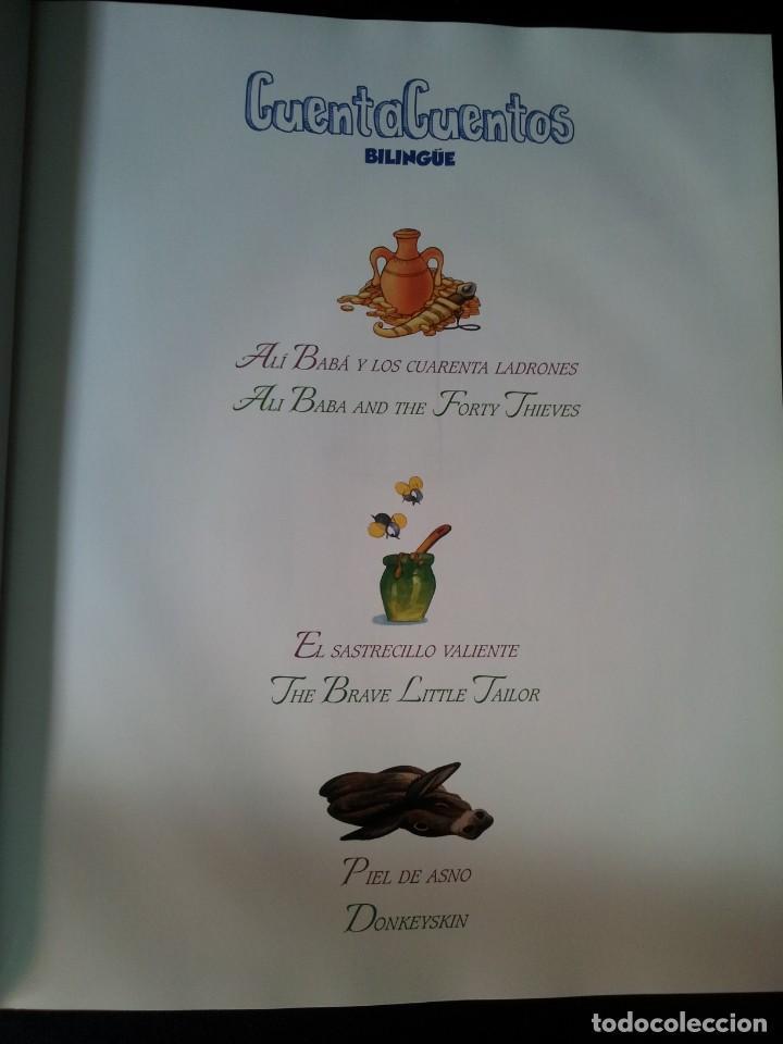 Libros de segunda mano: COLECCIÓN CUENTA CUENTOS BILINGÜE (OBRA COMPLETA DE 12 VOLUMENES) (ESPAÑOL-INGLES): SIGNO EDITORES - Foto 58 - 135651591