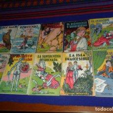 Libros de segunda mano: COLECCIÓN INFANTINA DE CUENTOS ILUSTRADOS LOTE DE 10 NºS. LS EDITOR. MUY, MUY RAROS.. Lote 135697995