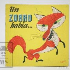 Libros de segunda mano: ANTIGUO CUENTO ILUSTRADO - UN ZORRO HABÍA... - ILUS. JIMÉNEZ ARNALOT - ED. BRUGUERA, 1961. Lote 136026662