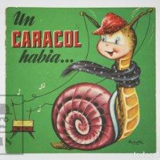 Libros de segunda mano: ANTIGUO CUENTO ILUSTRADO - UN CARACOL HABÍA... - ILUS. RAMÓN SABATÉS - ED. BRUGUERA, 1961. Lote 136027098