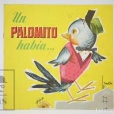 Libros de segunda mano: ANTIGUO CUENTO ILUSTRADO - UN PALOMITO HABÍA... - ILUS. RAMÓN SABATÉS - ED. BRUGUERA, 1961. Lote 136027442