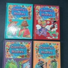 Libros de segunda mano: CUENTOS DE HADAS ( 4 VOLUMENES ) DIBUJOS - ALBARRAN / EUROPA EDICIONES AÑO 1986 / SIN USAR. Lote 136030714