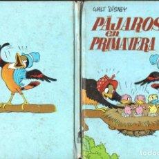 Libros de segunda mano: WALT DISNEY : PÁJAROS EN PRIMAVERA (MOLINO, 1968). Lote 136137082