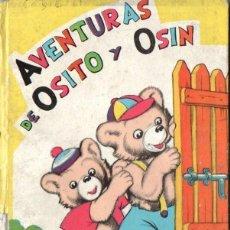 Libros de segunda mano: EMILIO FREIXAS : AVENTURAS DE OSITO Y OSIN (MESEGUER, S.F.). Lote 136137446