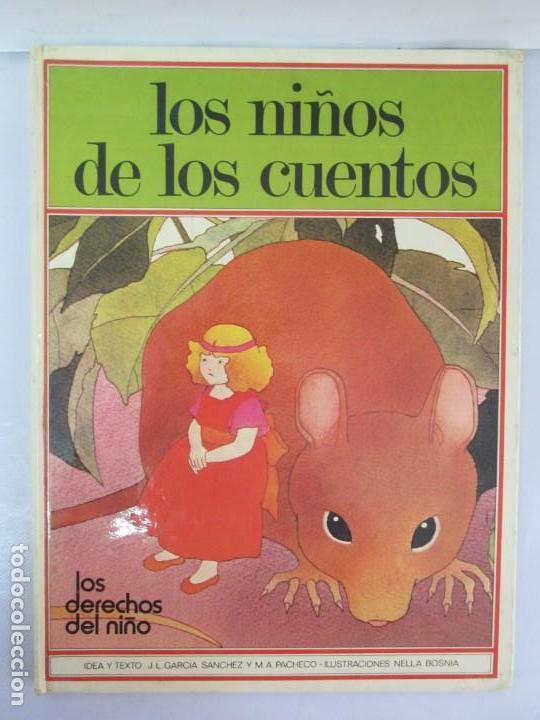 Libros de segunda mano: 8 LIBROS. LOS DERECHOS DEL NIÑO. EDICION ALTEA. 1978. CUENTOS. LA NIÑA SIN NOMBRE, EL NIÑO GIGANTE.. - Foto 7 - 136278302
