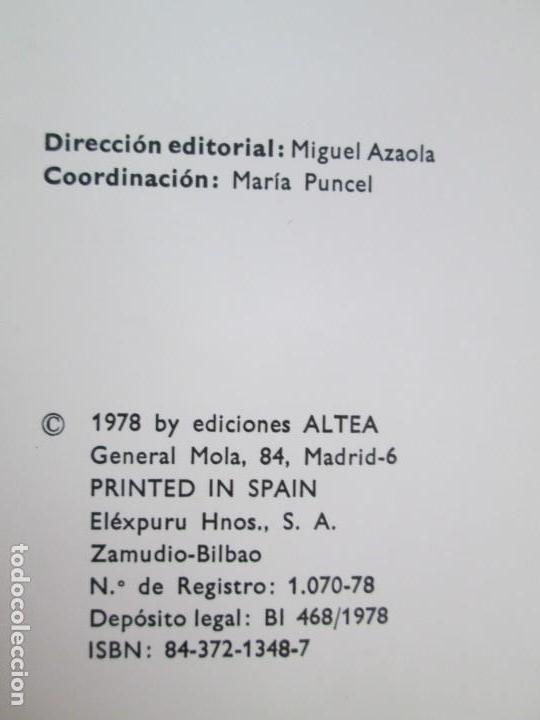 Libros de segunda mano: 8 LIBROS. LOS DERECHOS DEL NIÑO. EDICION ALTEA. 1978. CUENTOS. LA NIÑA SIN NOMBRE, EL NIÑO GIGANTE.. - Foto 8 - 136278302