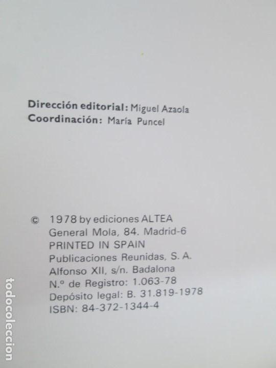 Libros de segunda mano: 8 LIBROS. LOS DERECHOS DEL NIÑO. EDICION ALTEA. 1978. CUENTOS. LA NIÑA SIN NOMBRE, EL NIÑO GIGANTE.. - Foto 17 - 136278302