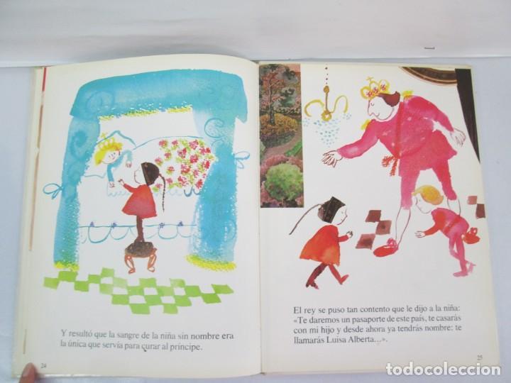 Libros de segunda mano: 8 LIBROS. LOS DERECHOS DEL NIÑO. EDICION ALTEA. 1978. CUENTOS. LA NIÑA SIN NOMBRE, EL NIÑO GIGANTE.. - Foto 21 - 136278302