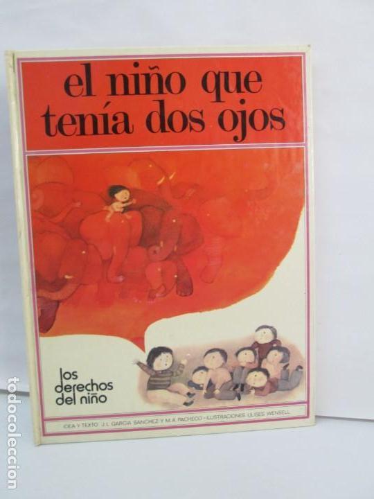 Libros de segunda mano: 8 LIBROS. LOS DERECHOS DEL NIÑO. EDICION ALTEA. 1978. CUENTOS. LA NIÑA SIN NOMBRE, EL NIÑO GIGANTE.. - Foto 24 - 136278302