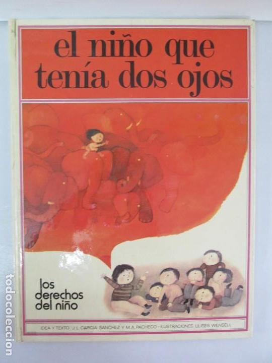 Libros de segunda mano: 8 LIBROS. LOS DERECHOS DEL NIÑO. EDICION ALTEA. 1978. CUENTOS. LA NIÑA SIN NOMBRE, EL NIÑO GIGANTE.. - Foto 25 - 136278302