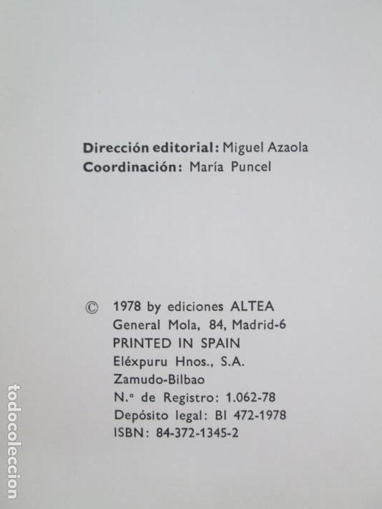 Libros de segunda mano: 8 LIBROS. LOS DERECHOS DEL NIÑO. EDICION ALTEA. 1978. CUENTOS. LA NIÑA SIN NOMBRE, EL NIÑO GIGANTE.. - Foto 26 - 136278302