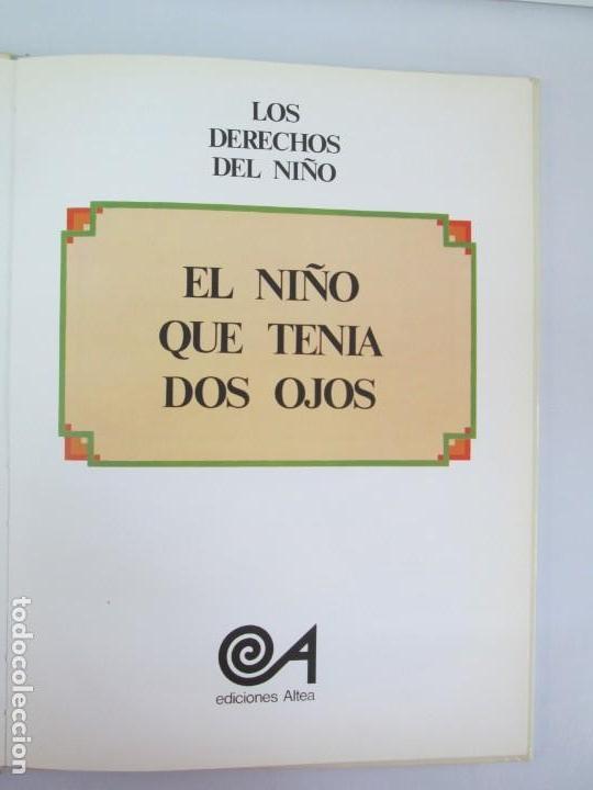 Libros de segunda mano: 8 LIBROS. LOS DERECHOS DEL NIÑO. EDICION ALTEA. 1978. CUENTOS. LA NIÑA SIN NOMBRE, EL NIÑO GIGANTE.. - Foto 27 - 136278302