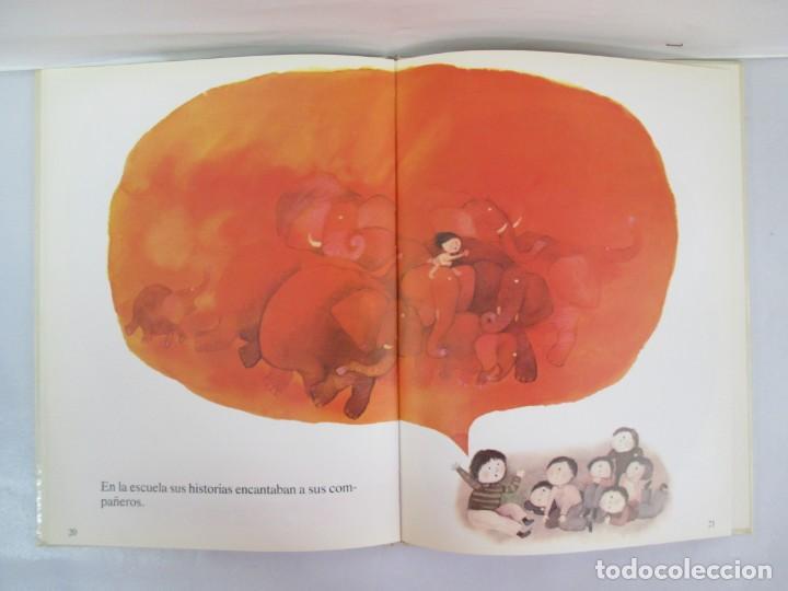 Libros de segunda mano: 8 LIBROS. LOS DERECHOS DEL NIÑO. EDICION ALTEA. 1978. CUENTOS. LA NIÑA SIN NOMBRE, EL NIÑO GIGANTE.. - Foto 30 - 136278302
