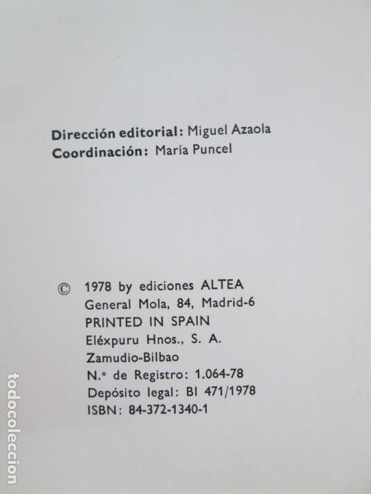 Libros de segunda mano: 8 LIBROS. LOS DERECHOS DEL NIÑO. EDICION ALTEA. 1978. CUENTOS. LA NIÑA SIN NOMBRE, EL NIÑO GIGANTE.. - Foto 35 - 136278302