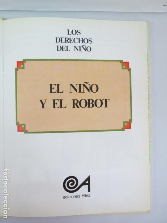 Libros de segunda mano: 8 LIBROS. LOS DERECHOS DEL NIÑO. EDICION ALTEA. 1978. CUENTOS. LA NIÑA SIN NOMBRE, EL NIÑO GIGANTE.. - Foto 36 - 136278302