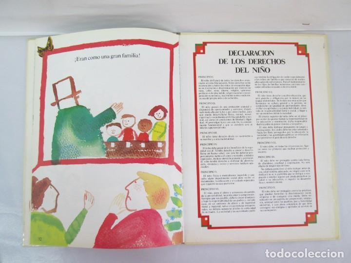 Libros de segunda mano: 8 LIBROS. LOS DERECHOS DEL NIÑO. EDICION ALTEA. 1978. CUENTOS. LA NIÑA SIN NOMBRE, EL NIÑO GIGANTE.. - Foto 41 - 136278302