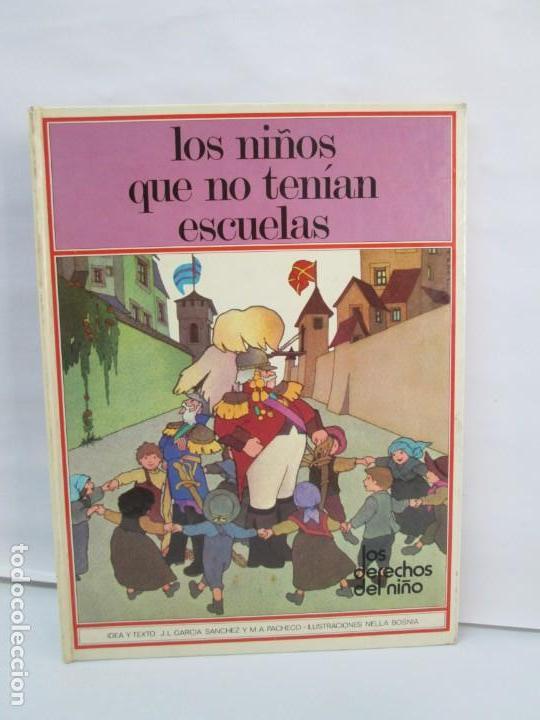Libros de segunda mano: 8 LIBROS. LOS DERECHOS DEL NIÑO. EDICION ALTEA. 1978. CUENTOS. LA NIÑA SIN NOMBRE, EL NIÑO GIGANTE.. - Foto 43 - 136278302