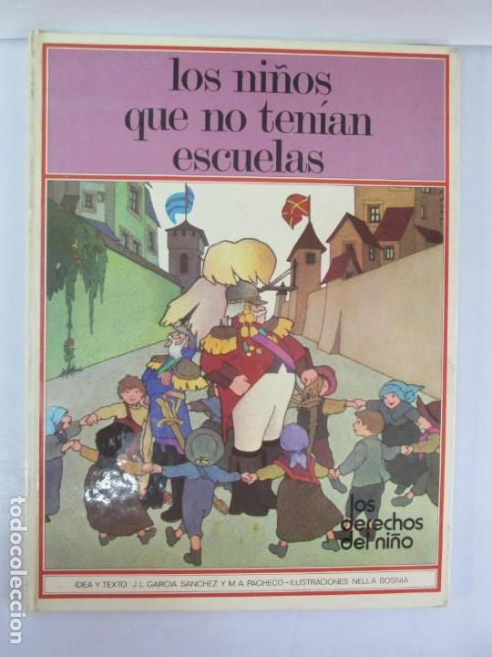 Libros de segunda mano: 8 LIBROS. LOS DERECHOS DEL NIÑO. EDICION ALTEA. 1978. CUENTOS. LA NIÑA SIN NOMBRE, EL NIÑO GIGANTE.. - Foto 44 - 136278302