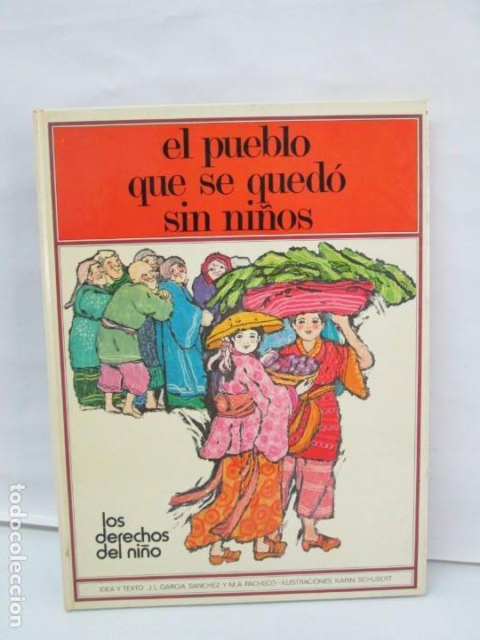 Libros de segunda mano: 8 LIBROS. LOS DERECHOS DEL NIÑO. EDICION ALTEA. 1978. CUENTOS. LA NIÑA SIN NOMBRE, EL NIÑO GIGANTE.. - Foto 54 - 136278302