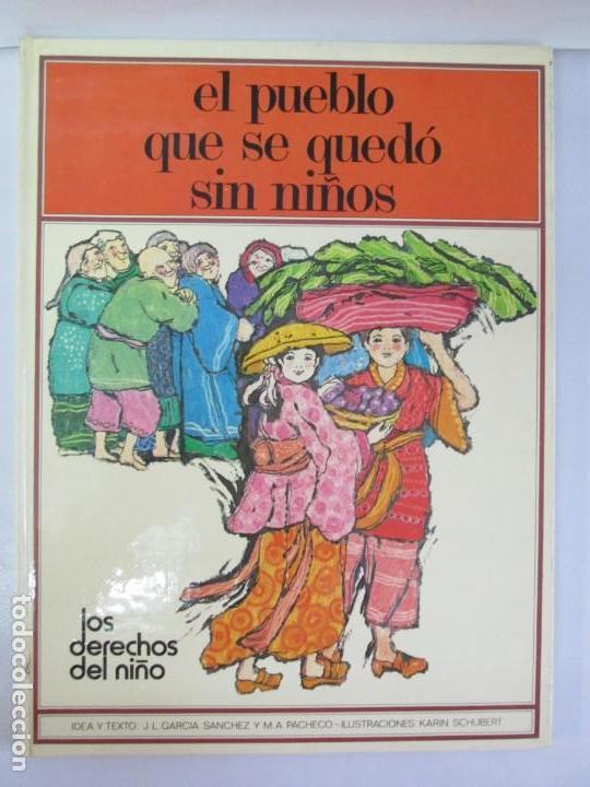 Libros de segunda mano: 8 LIBROS. LOS DERECHOS DEL NIÑO. EDICION ALTEA. 1978. CUENTOS. LA NIÑA SIN NOMBRE, EL NIÑO GIGANTE.. - Foto 55 - 136278302
