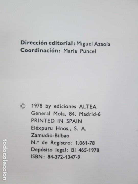 Libros de segunda mano: 8 LIBROS. LOS DERECHOS DEL NIÑO. EDICION ALTEA. 1978. CUENTOS. LA NIÑA SIN NOMBRE, EL NIÑO GIGANTE.. - Foto 56 - 136278302