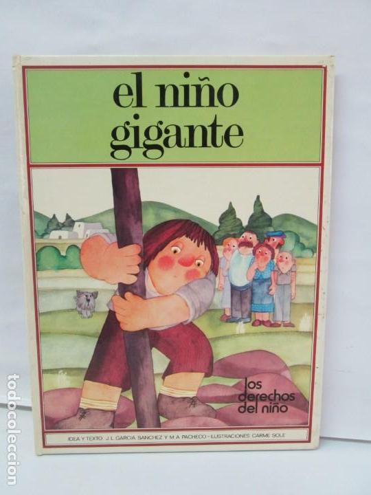 Libros de segunda mano: 8 LIBROS. LOS DERECHOS DEL NIÑO. EDICION ALTEA. 1978. CUENTOS. LA NIÑA SIN NOMBRE, EL NIÑO GIGANTE.. - Foto 65 - 136278302