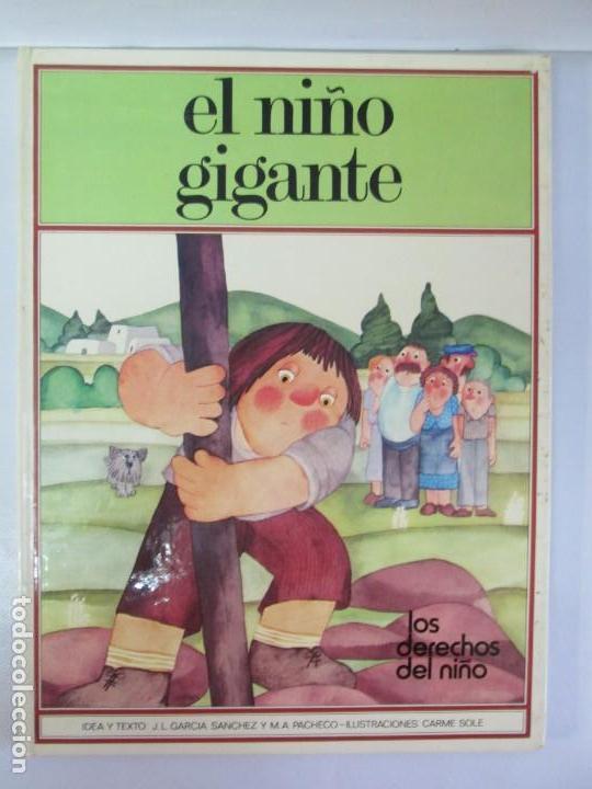 Libros de segunda mano: 8 LIBROS. LOS DERECHOS DEL NIÑO. EDICION ALTEA. 1978. CUENTOS. LA NIÑA SIN NOMBRE, EL NIÑO GIGANTE.. - Foto 66 - 136278302