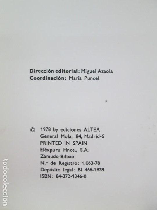 Libros de segunda mano: 8 LIBROS. LOS DERECHOS DEL NIÑO. EDICION ALTEA. 1978. CUENTOS. LA NIÑA SIN NOMBRE, EL NIÑO GIGANTE.. - Foto 67 - 136278302