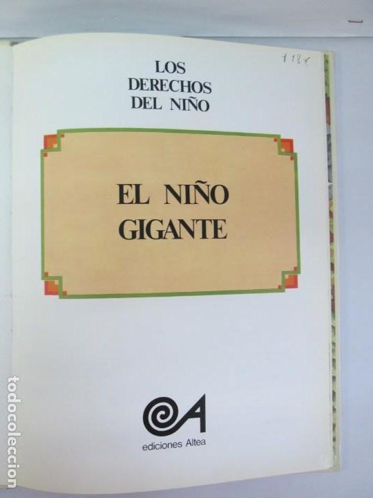 Libros de segunda mano: 8 LIBROS. LOS DERECHOS DEL NIÑO. EDICION ALTEA. 1978. CUENTOS. LA NIÑA SIN NOMBRE, EL NIÑO GIGANTE.. - Foto 68 - 136278302