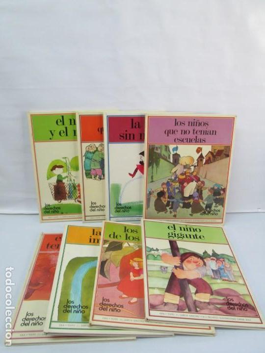 8 LIBROS. LOS DERECHOS DEL NIÑO. EDICION ALTEA. 1978. CUENTOS. LA NIÑA SIN NOMBRE, EL NIÑO GIGANTE.. (Libros de Segunda Mano - Literatura Infantil y Juvenil - Cuentos)