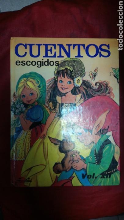 CUENTOS ESCOGIDOS VOL. XII - 12 SUSAETA - REIMPRESIÓN 1984 - (Libros de Segunda Mano - Literatura Infantil y Juvenil - Cuentos)