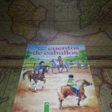 Libros de segunda mano: LOS MÁS BELLOS CUENTOS DE CABALLOS. SUSANNE GÖTZ. DANIELA POHL. . Lote 136507314