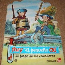 Libros de segunda mano: RUY EL PEQUEÑO CID, CUENTO TROQUELADO DE FHER 1980, MUY RARO DE VER. Lote 136590146