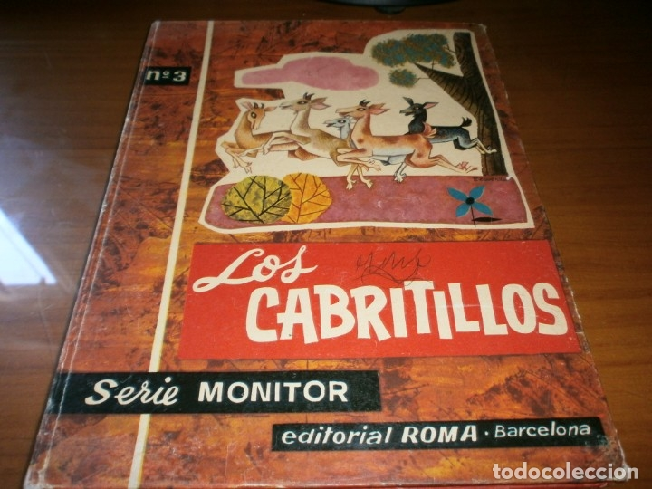 Libros de segunda mano: 3 LIBROS DE CUENTOS SERIE MONITOR - Nº 3,7, 8 - ED. ROMA, 1ª Edición, Barcelona, 1962. - Foto 6 - 50823689