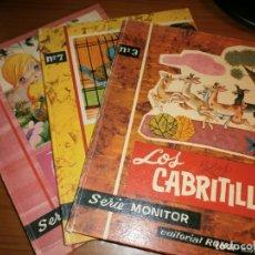 Libros de segunda mano: 3 LIBROS DE CUENTOS SERIE MONITOR - Nº 3,7, 8 - ED. ROMA, 1ª EDICIÓN, BARCELONA, 1962.. Lote 50823689