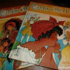 Libros de segunda mano: LOTE 2 LIBROS CUENTOS Y LEYENDAS - Nº 2, 5 - MARIA PASCUAL - ED. TORAY - 1980.. Lote 137398278