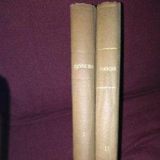 Libros de segunda mano: 24 VOLÚMENES EN 2 TOMOS DE PINOCHO-CHAPETE. AÑOS 60.. Lote 137408014