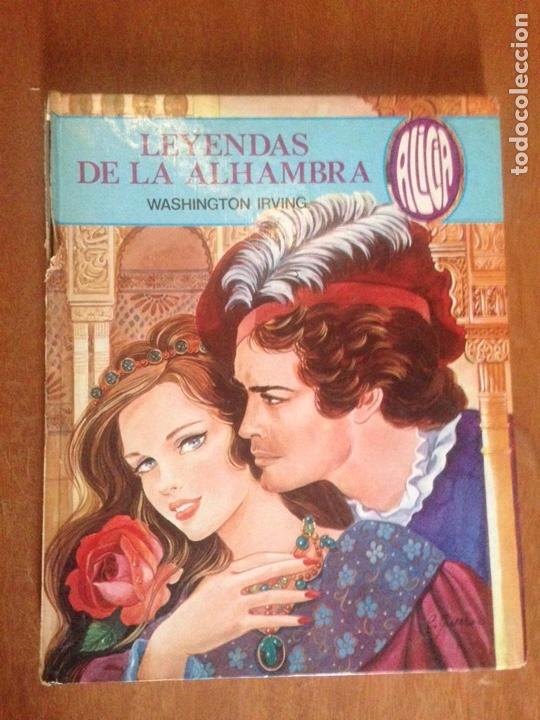 LEYENDAS DE LA ALHAMBRADAS (Libros de Segunda Mano - Literatura Infantil y Juvenil - Cuentos)