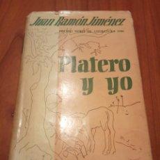 Libros de segunda mano: PLATERO Y YO, JUAN RAMÓN JIMÉNEZ. Lote 137853720