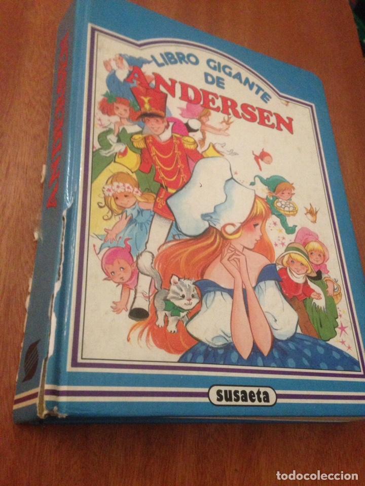LIBRO GIGANTE DE ANDERSEN (Libros de Segunda Mano - Literatura Infantil y Juvenil - Cuentos)