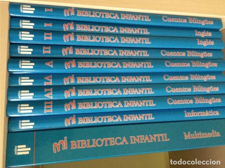 MI BIBLIOTECA INFANTIL: CUENTOS BILINGÜES - INGLÉS PARA NIÑOS (9 TOMOS) - VV. AA. (Libros de Segunda Mano - Literatura Infantil y Juvenil - Cuentos)
