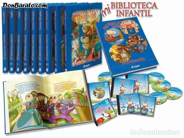 Libros de segunda mano: Mi Biblioteca Infantil: Cuentos Bilingües - Inglés para niños (9 tomos) - VV. AA. - Foto 2 - 131765430