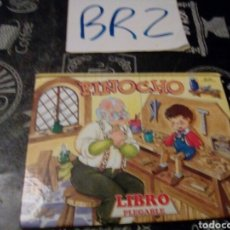 Libros de segunda mano: LIBRO PEGABLE POP UP PINOCHO. Lote 138822290