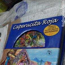 Libros de segunda mano: CAPERUCITA ROJA. CUENTO MAS CD. Lote 138905756